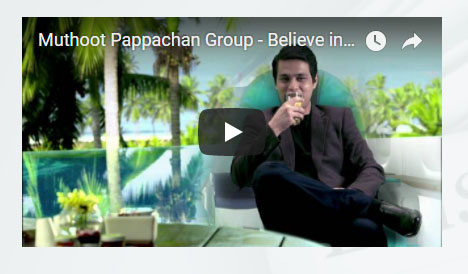 MUTHOOT PAPPACHAN GROUP - BELIEVE IN BLUE